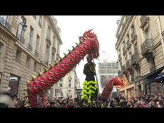 Chinese New Year: Coronavirus doesn't spoil the party in Paris