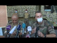 Explosion of the port of Beirut: press conference of the French and Lebanese armies