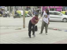 An Indian breakdanceuse fights against the standards