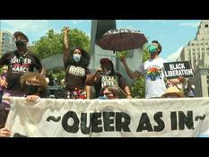 New York: LGBT rally against racism and police violence